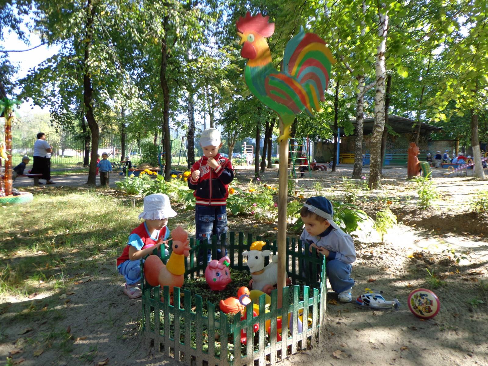 Идеи украшений для детской площадки
