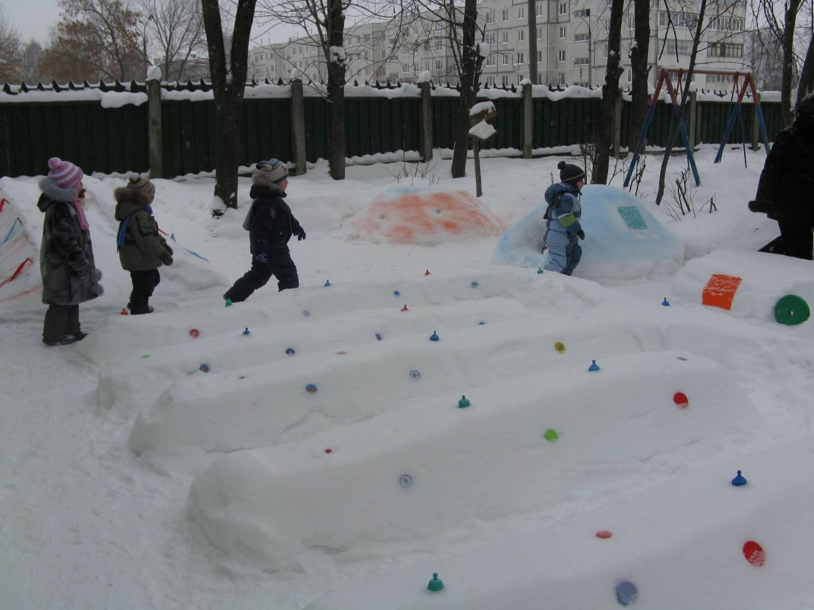 Снег своими руками в доу